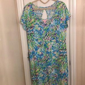 EUC Lilly Pulitzer Short Sleeve Cotton Dress